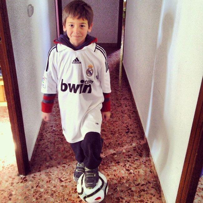 Mi Amigo Bauti Team Real Madrid Futbol Soccer
