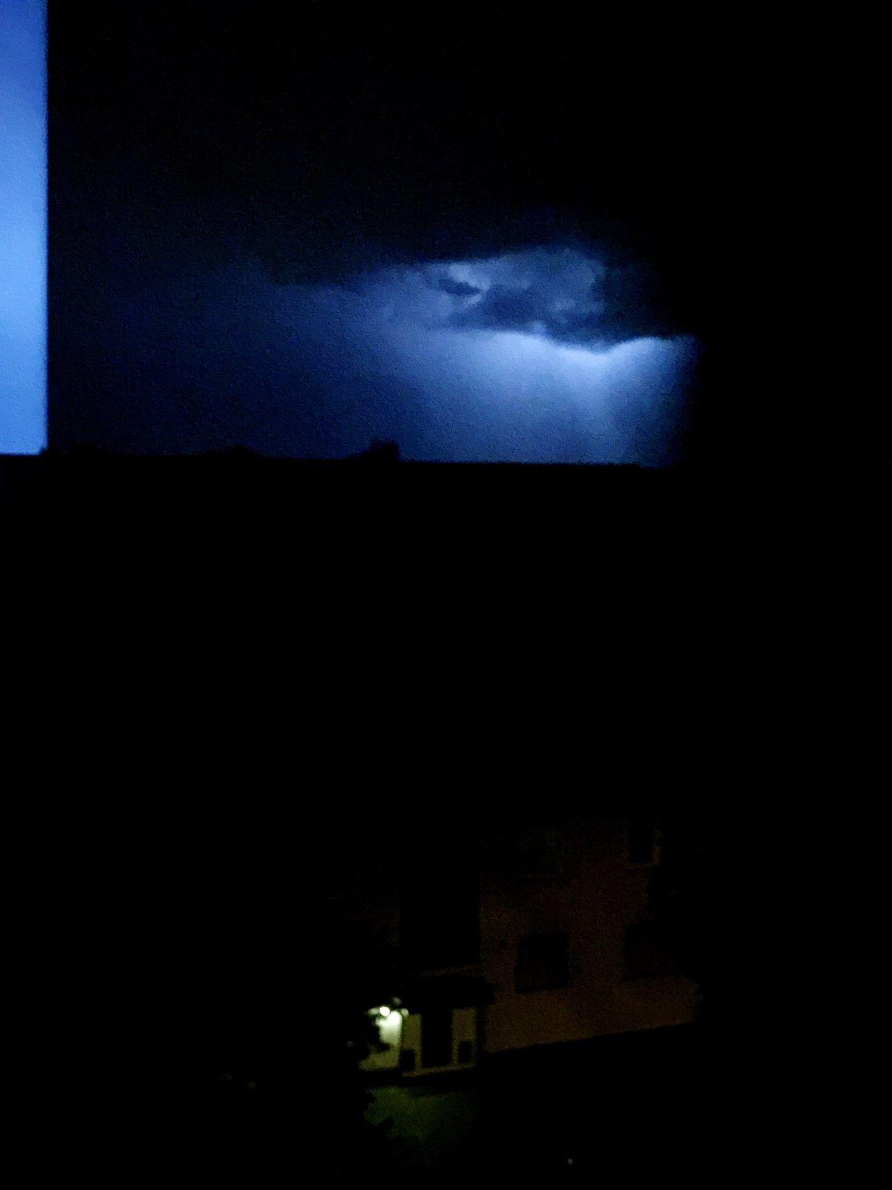 Sky Cloud Dark Storm Cloud Blue