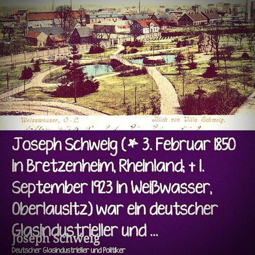 Joseph Schweig Unser Mann!