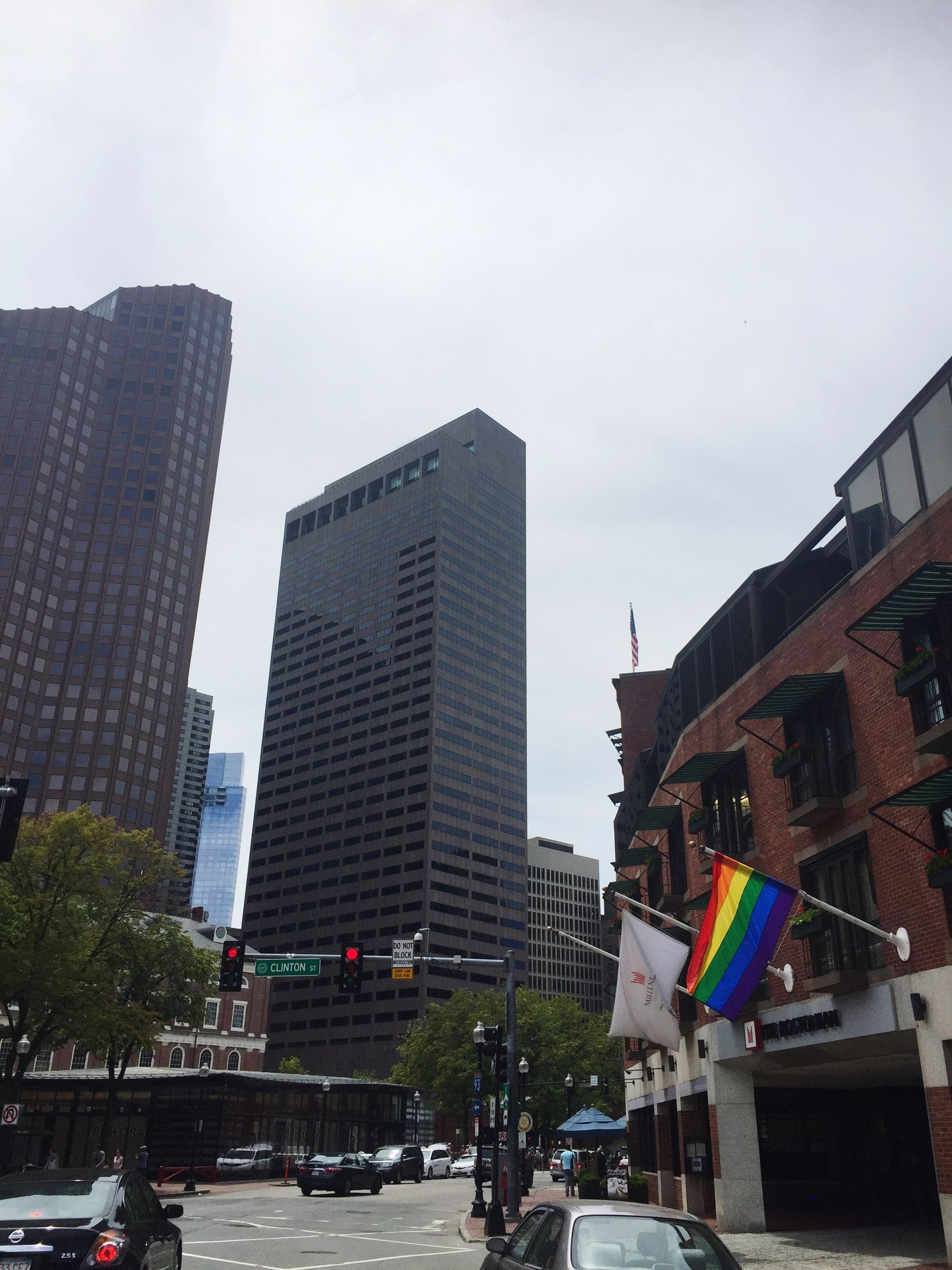 Boston, Massachusetts Boston Pride Lgbt Lgbt Pride Flag City LGBT Rainbows Clinton Street Building 3XSPUnity