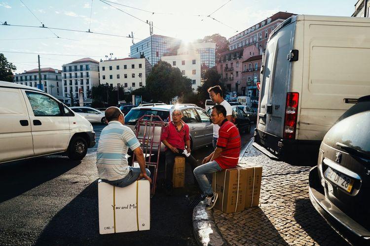 Untold Stories Streetphotography Talks People Lisbon Urban Daylife Documentaryphotography Enjoying Life