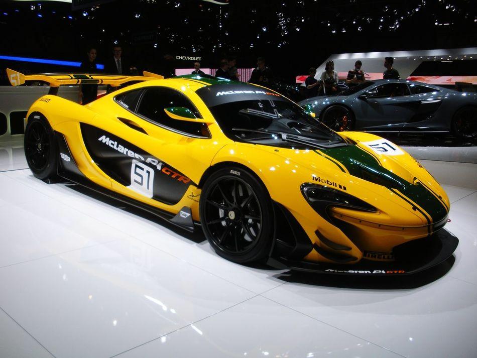 The fabulous McLaren McLaren P1 Gtr Hypercar GenevaInternationalMotorShow2015 GIMS2015 Geneva Swiss I love so much British Cars