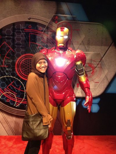 getting cozy with iron man