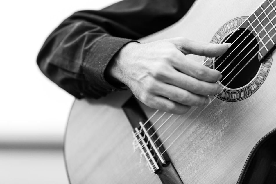 Beautiful stock photos of gitarre, Arts Culture And Entertainment, Day, Focus On Foreground, Fretboard