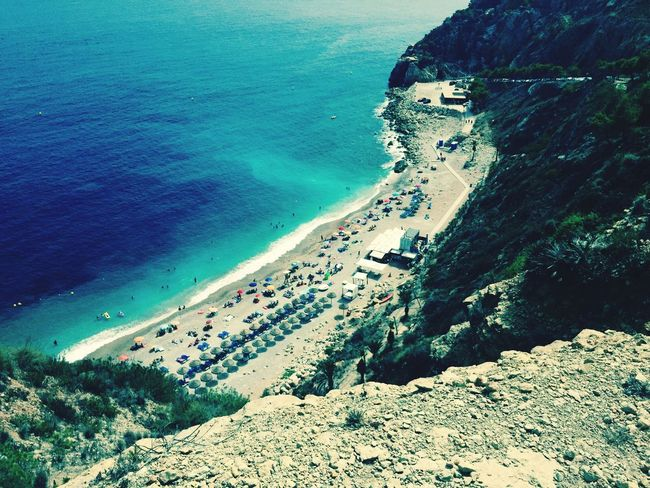 Benitachell Playa #beach Playa Beachphotography Beach Sea Taking Photos Enjoying Life Iphone 6 Iphonephotography IPhone Beachlovers Alicante, Spain