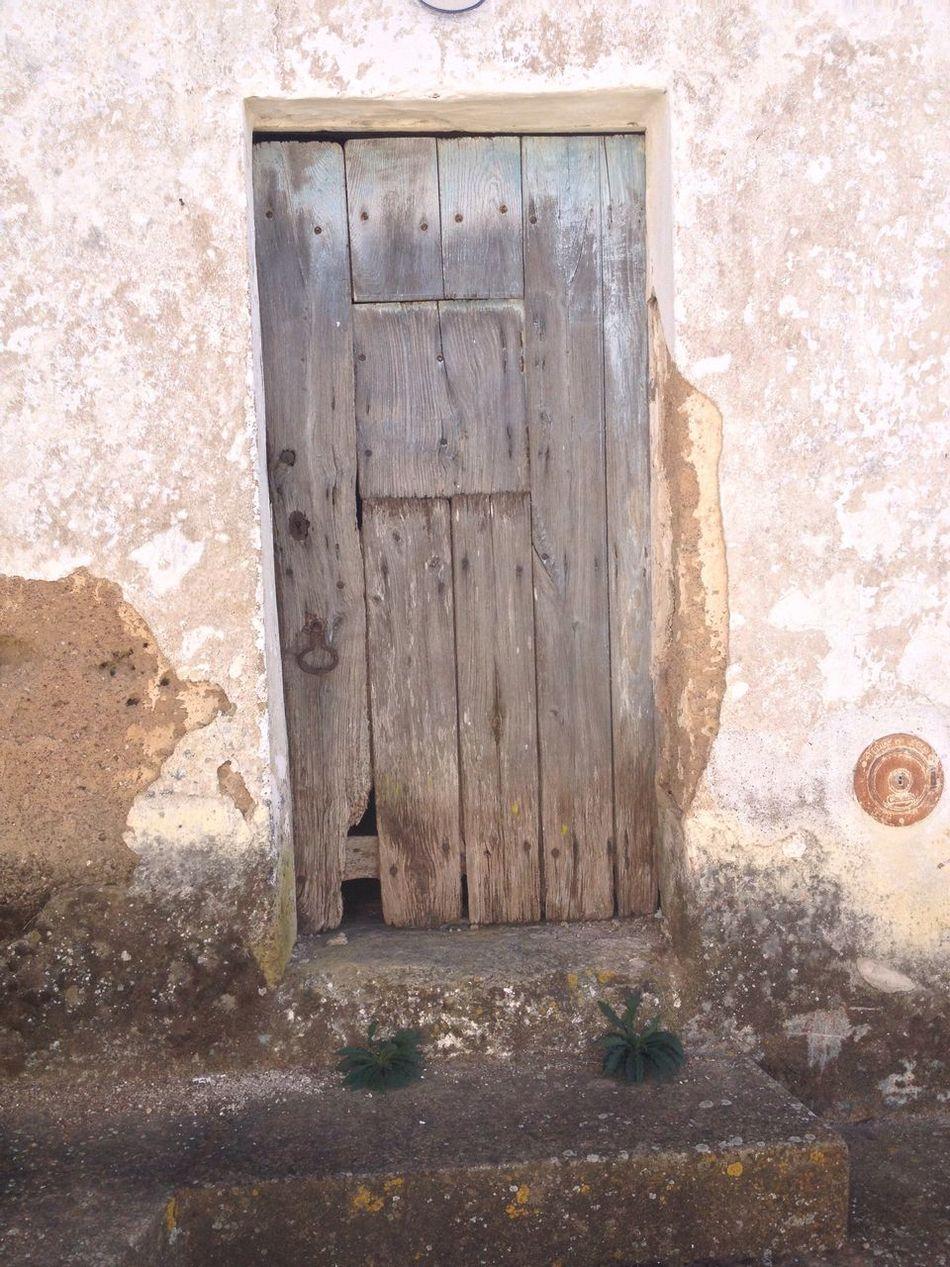 Door Building Exterior Entrance Nature Portugal