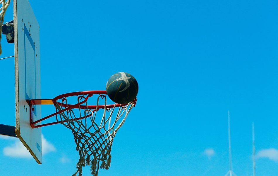 Beautiful stock photos of basketball, Basketball - Ball, Basketball - Sport, Basketball Hoop, Basketball Net