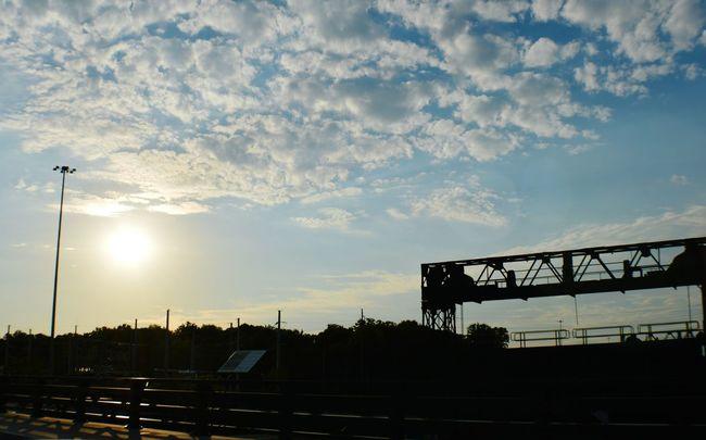 Rochester, NY Nithefreeshooter Streetphotography Beauty Bridge Taking Photos Rochesterny  Sunset #sun #clouds #skylovers #sky #nature #beautifulinnature #naturalbeauty #photography #landscape