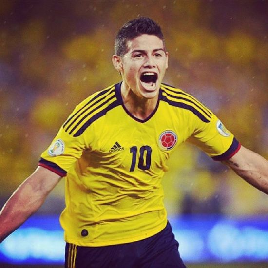 Although Columbia lost, I have nothing but respect for this man. Respect 10 Jamesrodriguez