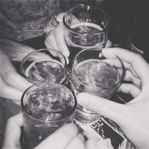 Drinking Hanging Out With Friends Me And My Bestfriend<3 Together For 10 Years<33 (: Best Friend Forever