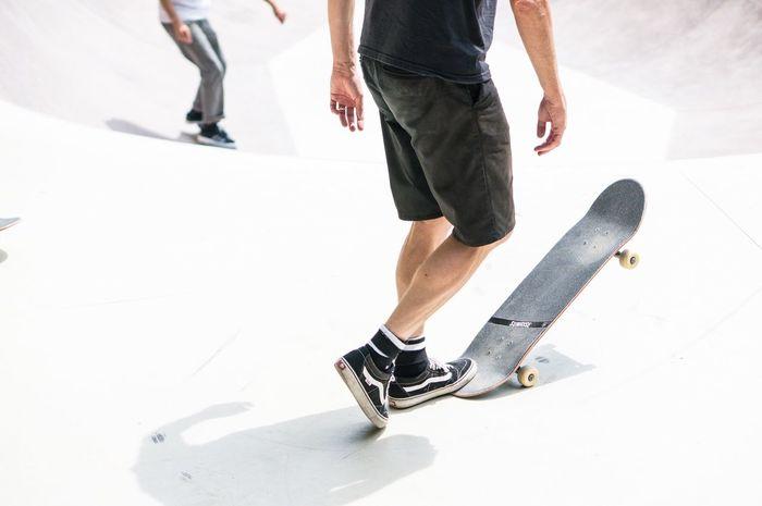 Skatepark Skateboarding Skateboarding Detail People Watching Sport Action Sports Luxembourg Vans