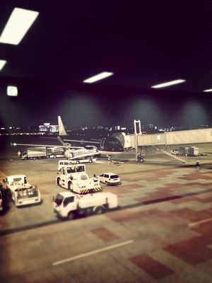 at the airport at fukuoka by ryo