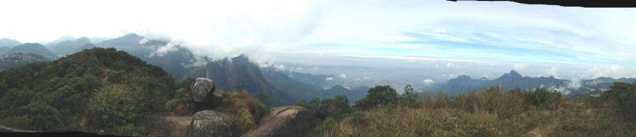 Mountain view Mountains