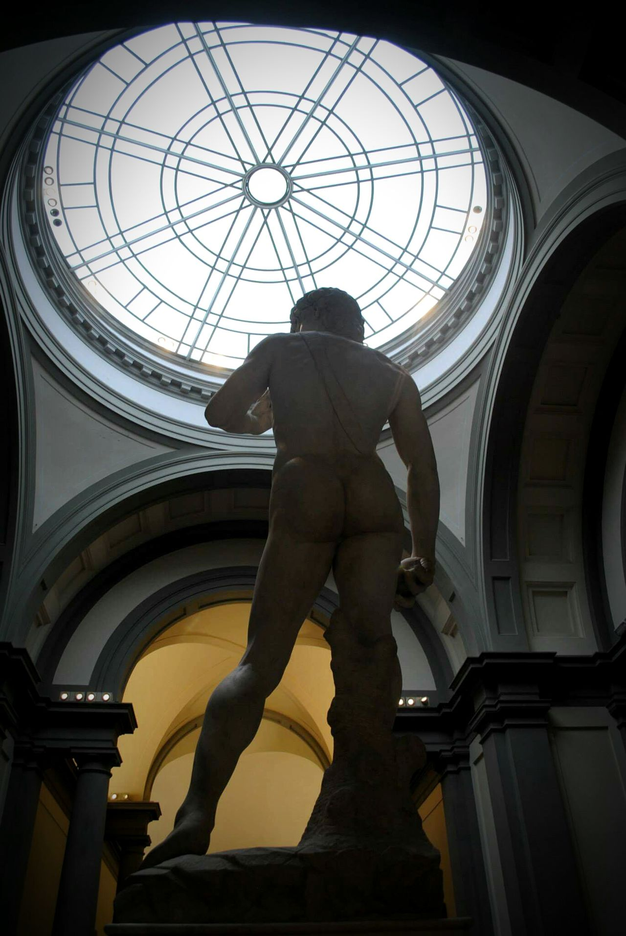 GalleriaDellaAccademia Firenze ILDavide Michelangelo Museums Belleza Back Theotherside One Man Only Italy🇮🇹 Sculpting A Perfect Body