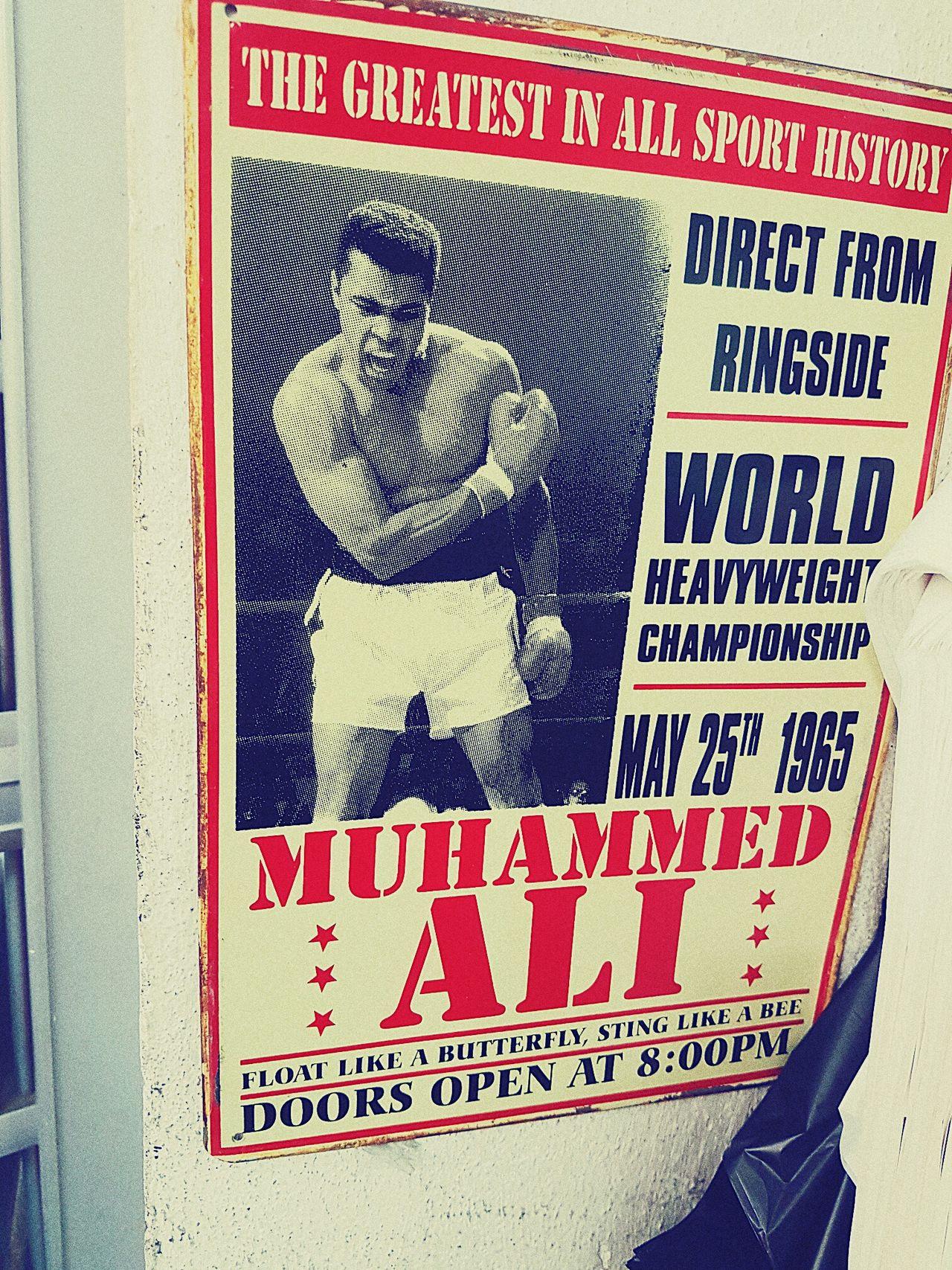 Pivotal Ideas MuhammadAli Boks 1980s Legend Kingboks Fight Side Oldpicture