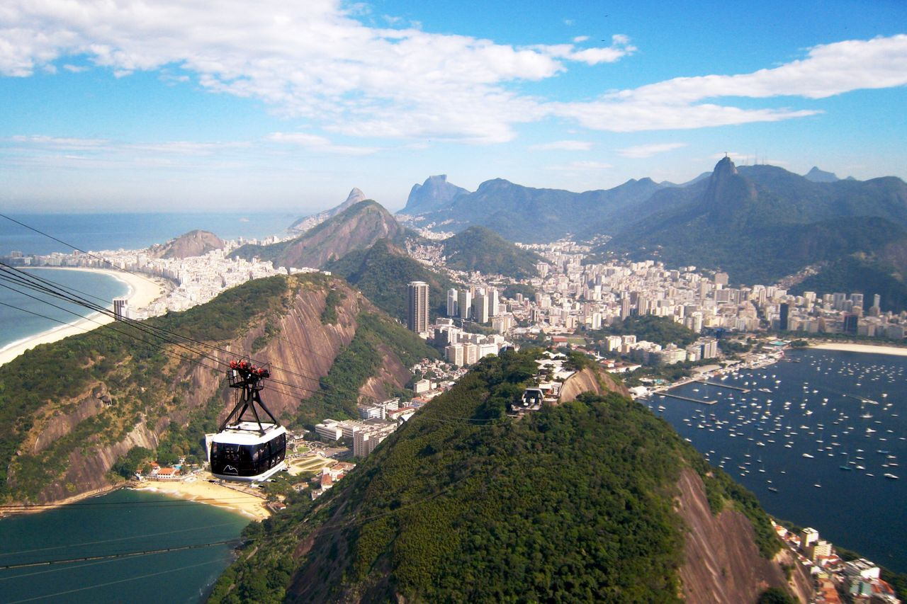 Mountain Mountain Range Scenics Architecture Sea Sky Outdoors Travel Destinations Aerial View Water No People Building Exterior Built Structure Beauty In Nature Day Coastline Beach Beautiful Nature Check This Out Flying High Nature Cable Car in Sugar Loaf Rio De Janeiro , Brazil MISSIONS: The Great Outdoors - 2017 EyeEm Awards