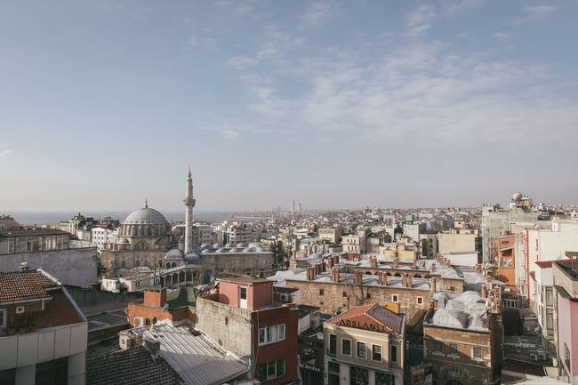 Architecture Building City City City Life Cityscape Cityview Mosque Religion Rooftop Sky Skyline Sunset Topview Travel Travel Destinations Travel Photography Traveling Up On The Roof