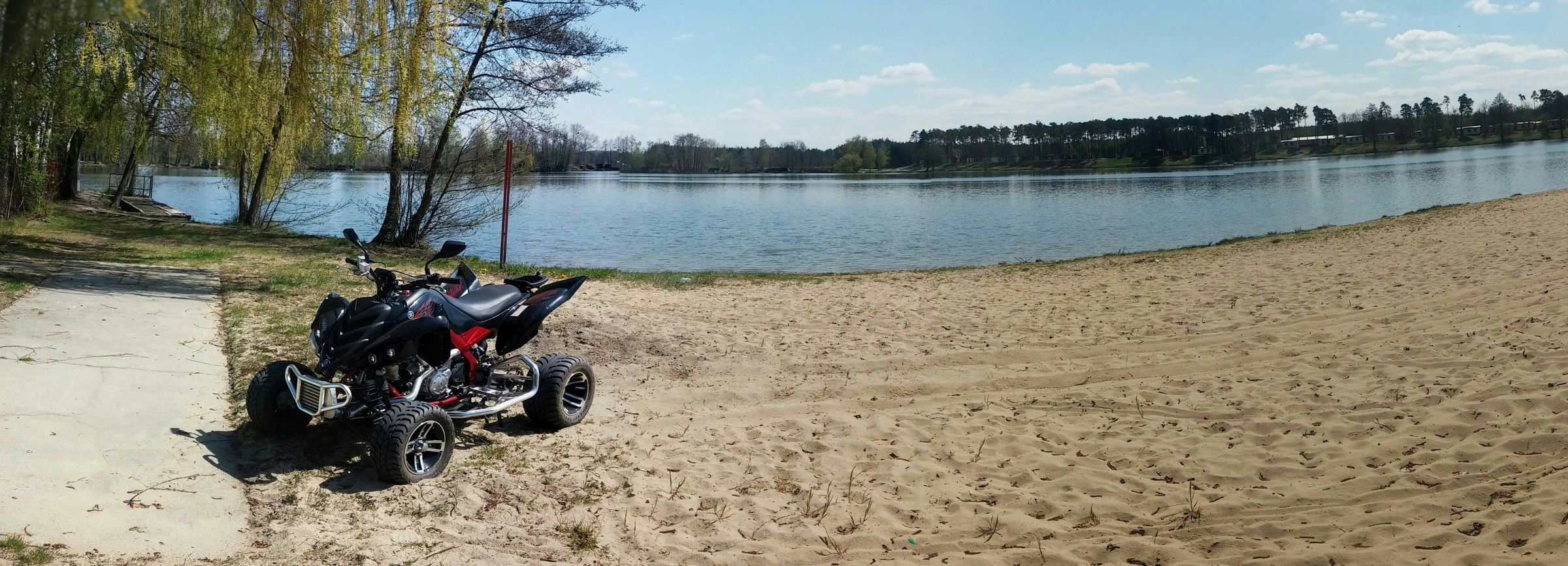 RAPTOR 700 Yakahosu Beautiful Day Relaxing Lovely Weather Yamaha Turbo Beach Nature Lake