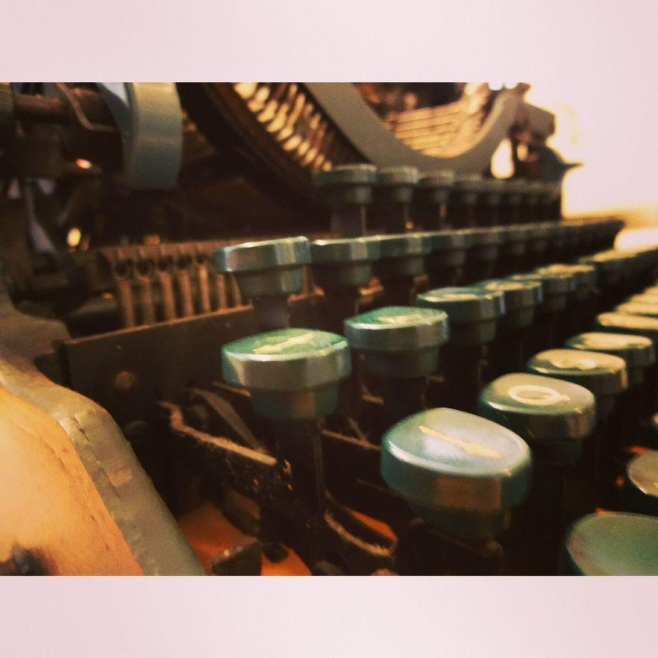 Typewriter Letters Daktilo Hgstudyo
