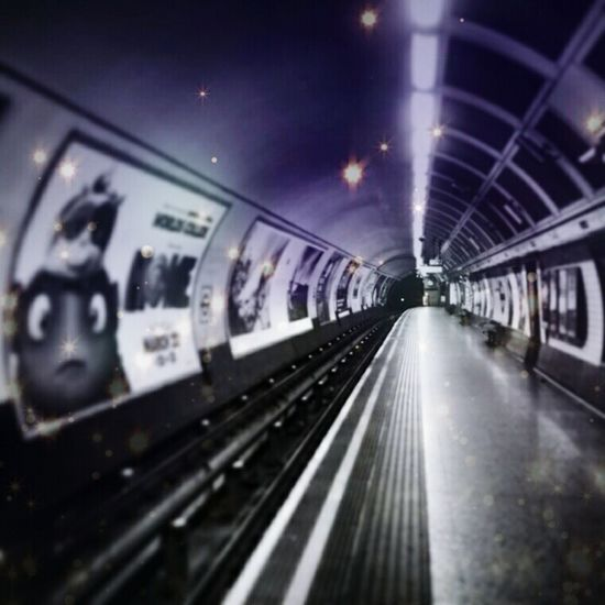 London St Paul's tube station London Underground Hanging Out