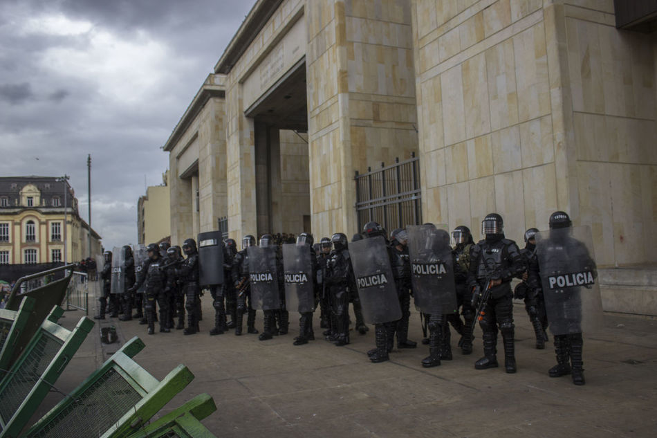 Beautiful stock photos of police,  Authority,  Black Color,  Bogota,  Building Exterior