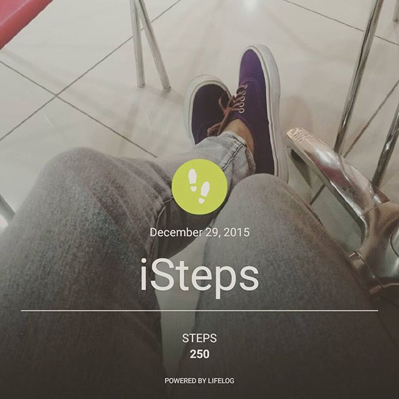 My steps in my lifelog. 🏃😁👣 Sonyverse XPERIA ICAN DemandGreat BeMoved Makebelieve