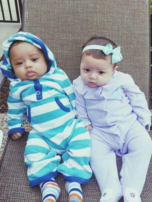 Twins Twinlove Cutebabies