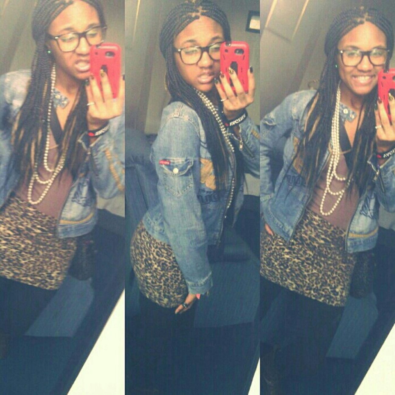 Not too skinny , not too thick make niggehs turn heads supa ' quick ♥ ;*
