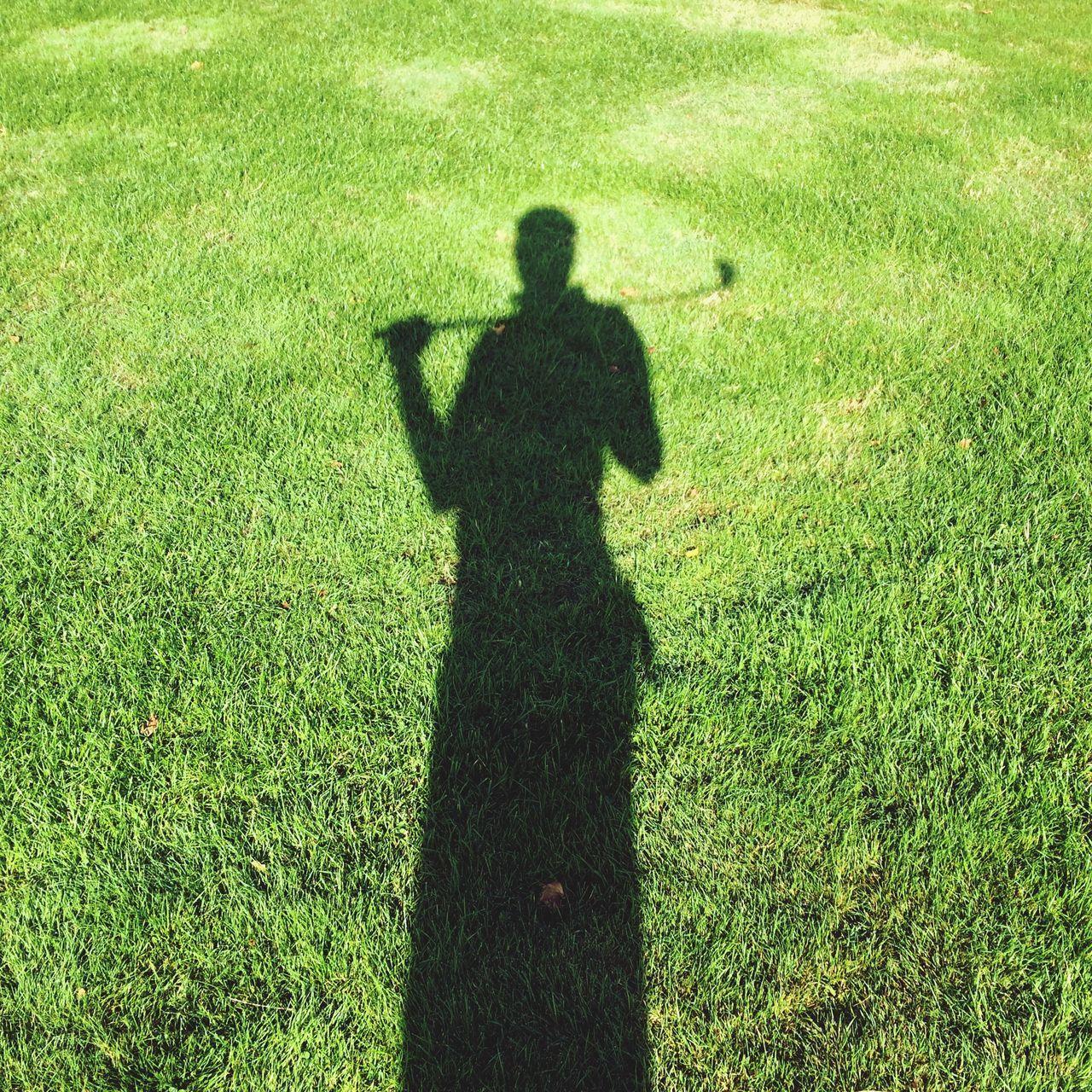 Grass Silhouette Golf