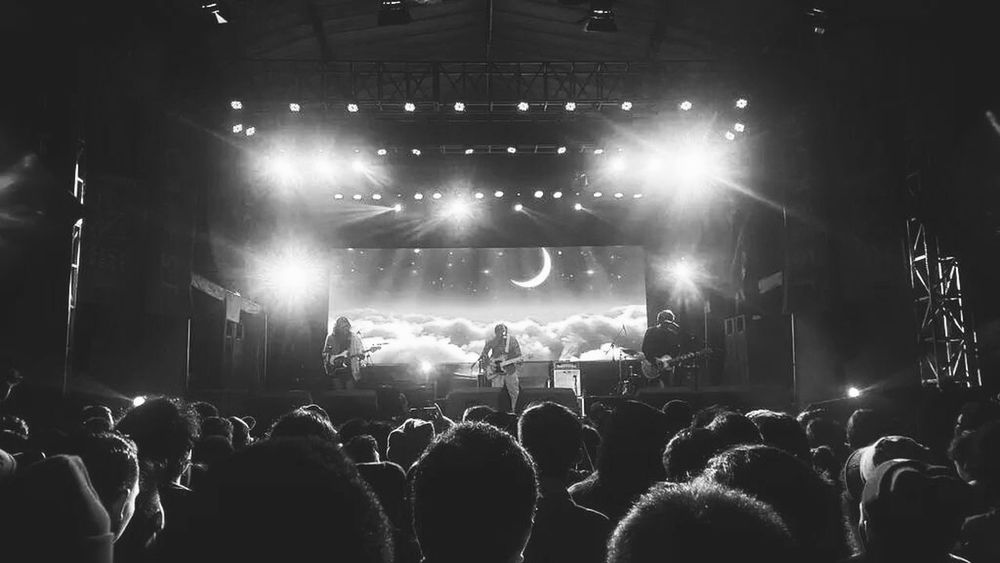 For The Love Of Music Efek Rumah Kaca live in Malang City East Java Indonesia Concert Photography Blackandwhite Monochrome Postrock Shoegaze Music Live Music Ambient Ambience