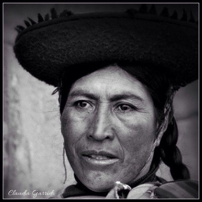 Portrait of Portrait Of A Woman Blancoynegro Blackandwhite Photography