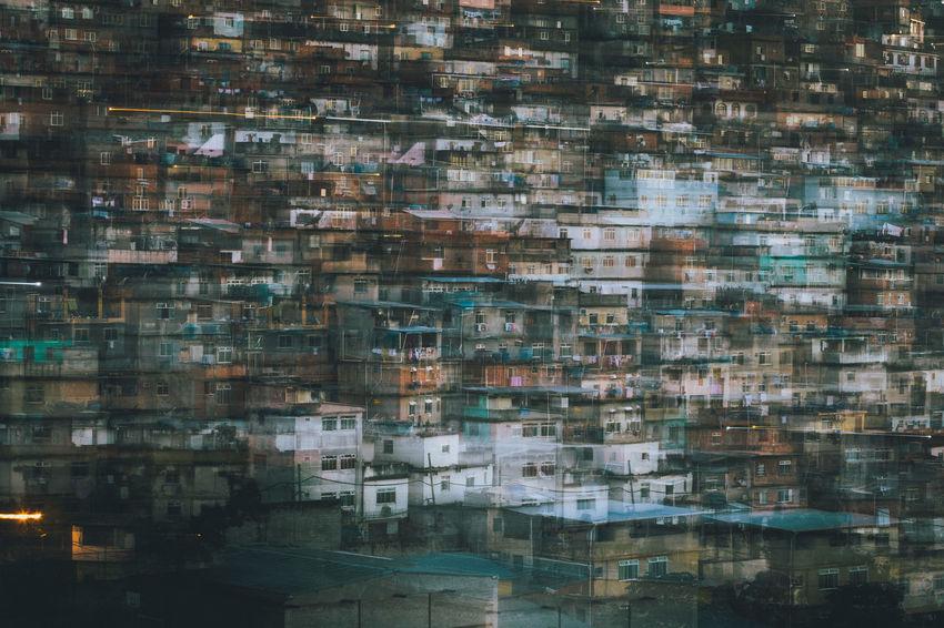 long exposure of Favela Cantagalo, Rio de Janeiro - Brazil Brazil Disorder Long Exposure Shot Poor  Rio De Janeiro Architecture Blurred On Purpose Blurry Cantagalo Close-up Day Density Density Of Population Favela Favelabrazil Favelas House Inhabitants Long Exposure No People Outdoors Population Population Explosion Slum Window Fresh On Market 2017