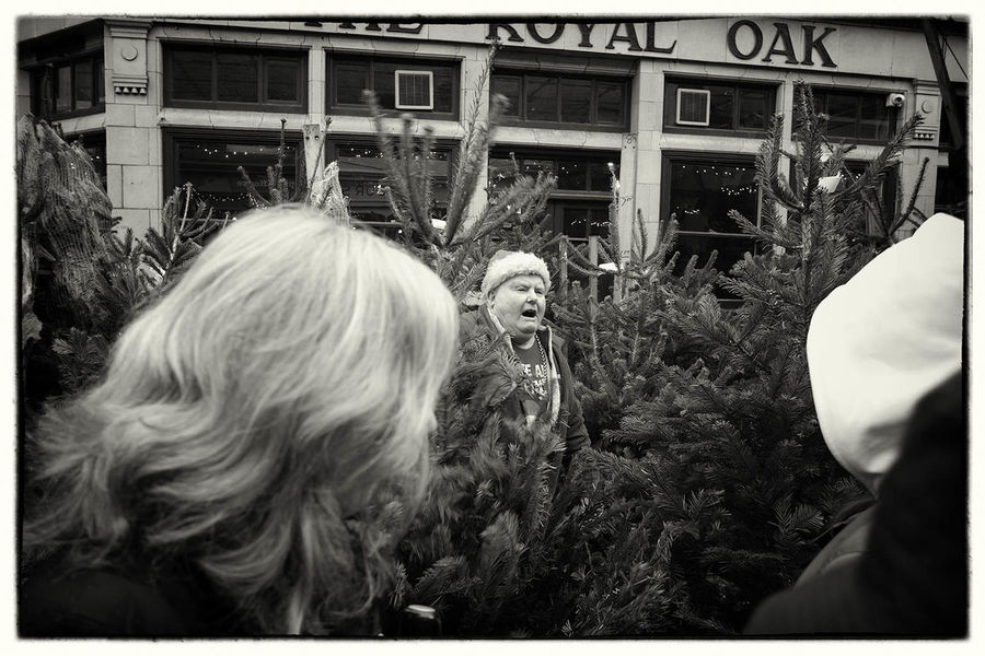 London: Christmas Wonderland Bnw Streetphoto_bw Black & White Walking Around Monochrome Fujifilm X-Pro1 London übercoolStreet