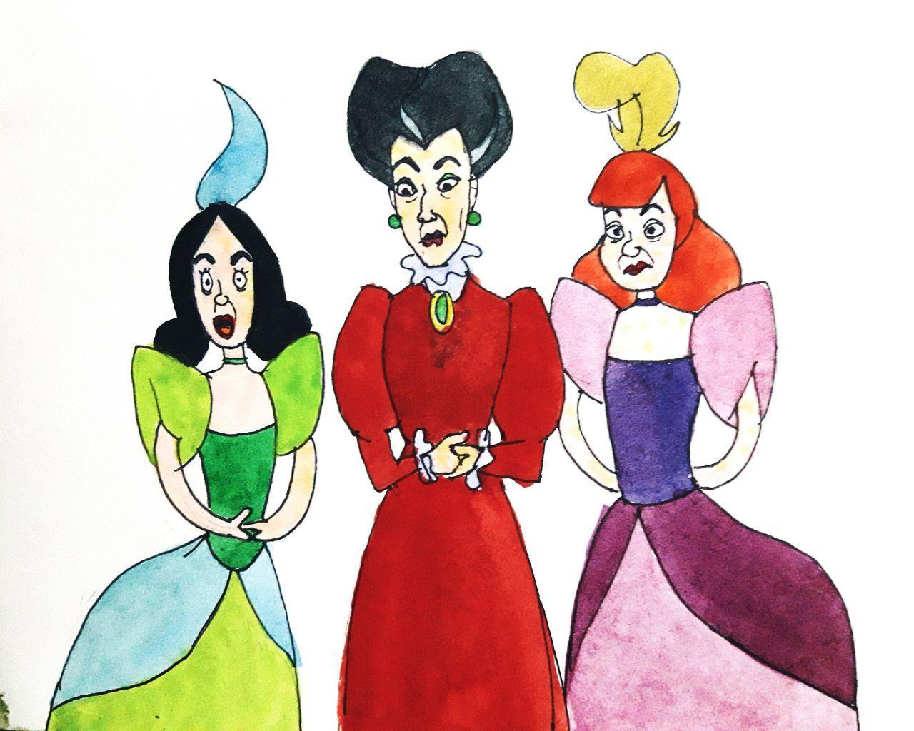 Cinderella Sisters Cinderallagirls Disney