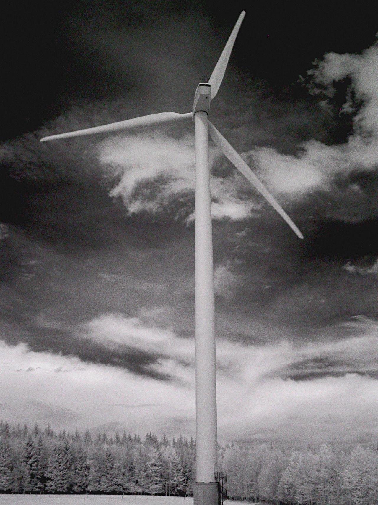 Windturbine bei Haldenwang Windturbines Wind Energy