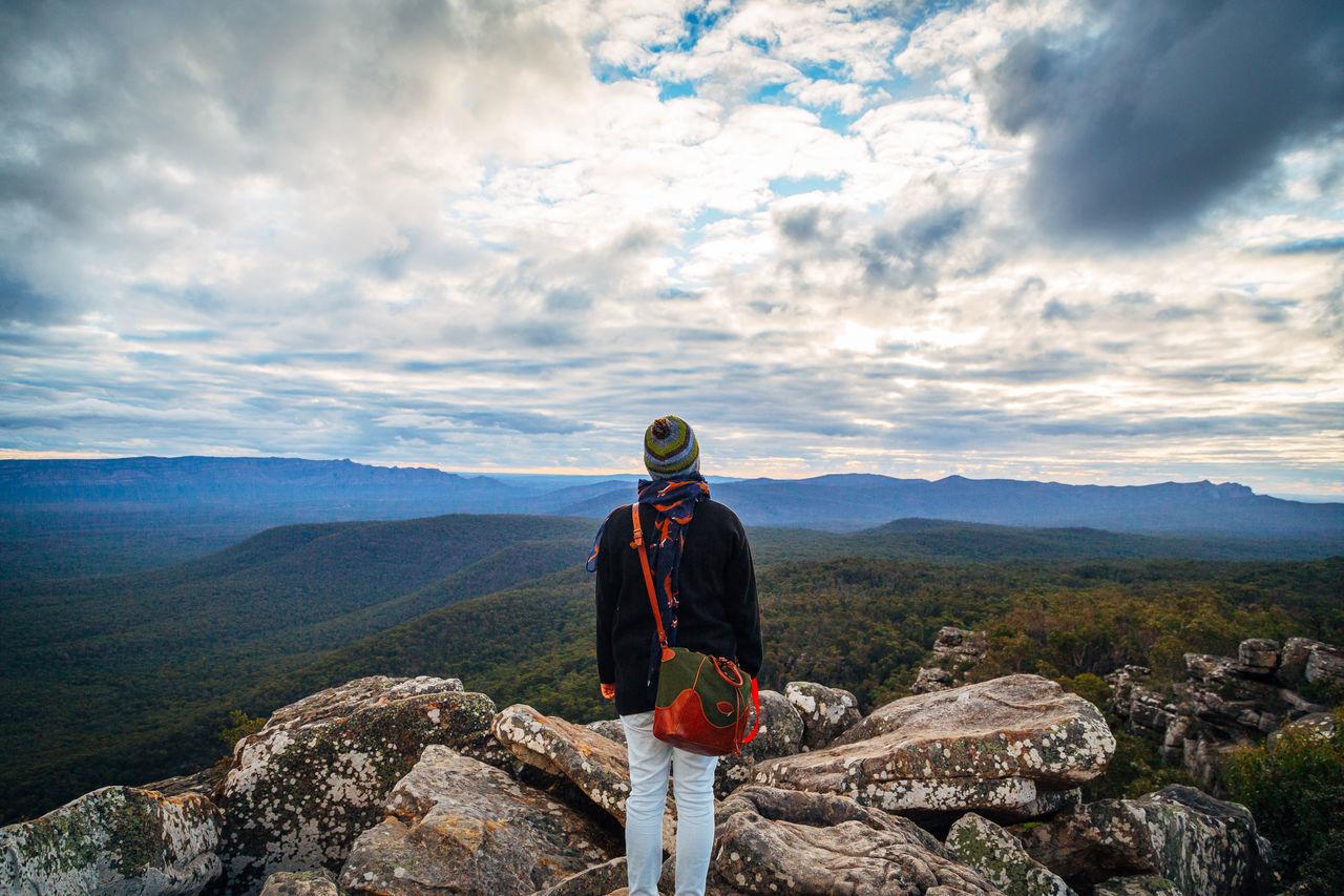 The Grampian National Park. Alone Australia Australian Landscape Clouds Exploration Landscape Rural Exploration The Grampians Travel Victoria