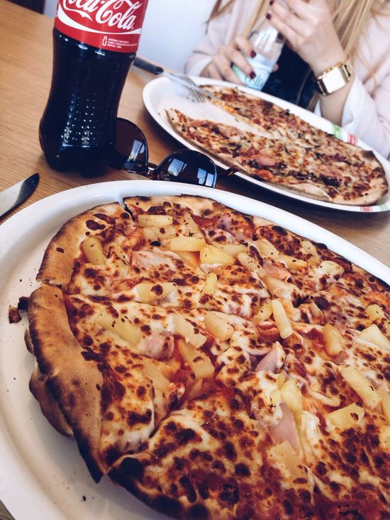 Shopping Hello World Relaxing Pizza