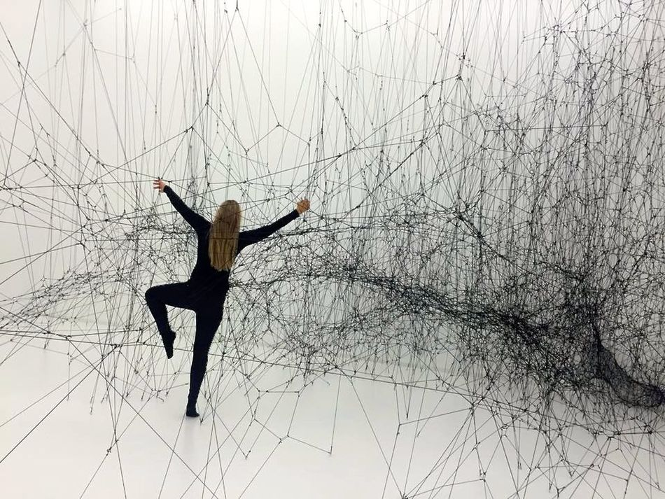 14 Billions Architecture Art ArtWork Kristiansand Museum Spiderweb Tomas Saraceno Urbanliving