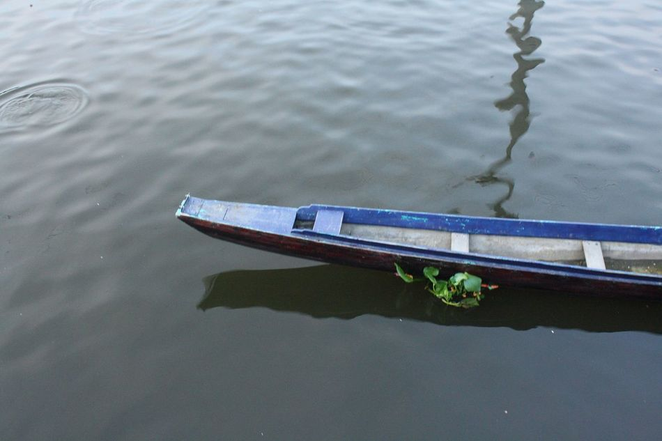 Water Nautical Vessel High Angle View No People Reflection Day Transportation Nature Mode Of Transport Waterfront Outdoors Lake Moored Close-up