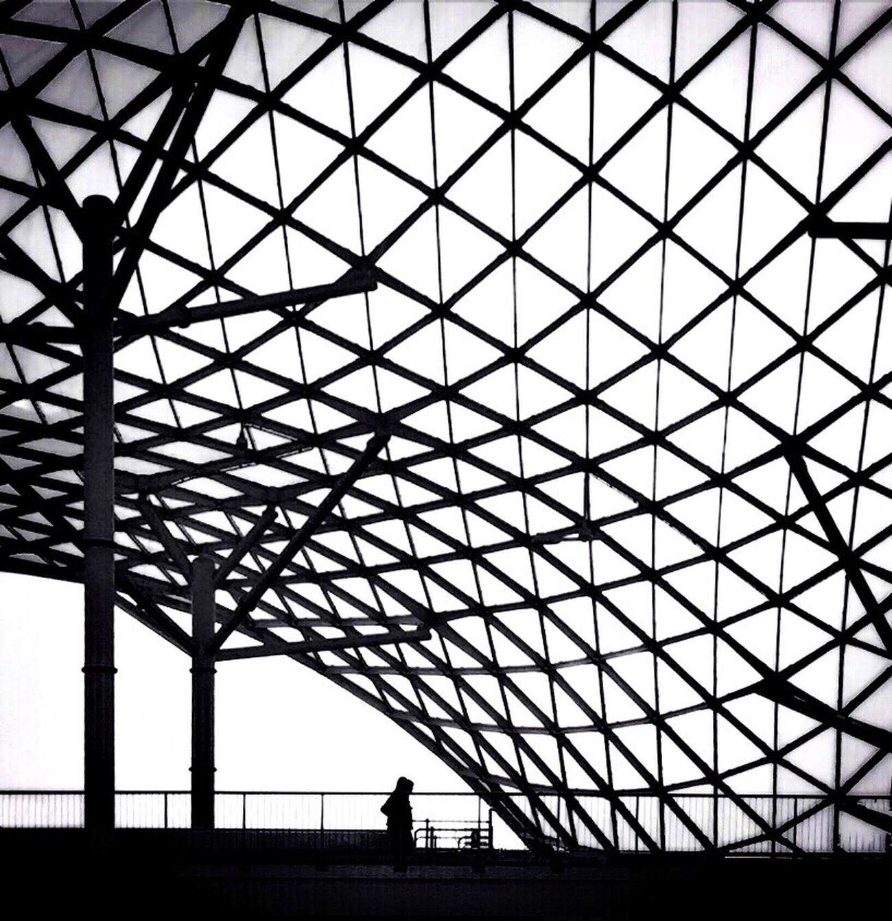 Fieramilano Blackandwhite Architecture Roof Streetphotography From My Point Of View IPhoneography EyeEm Milano Urban Geometry Silhouettes B&w Street Photography