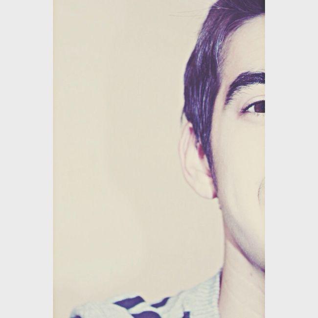 My eyes tell you everything ..