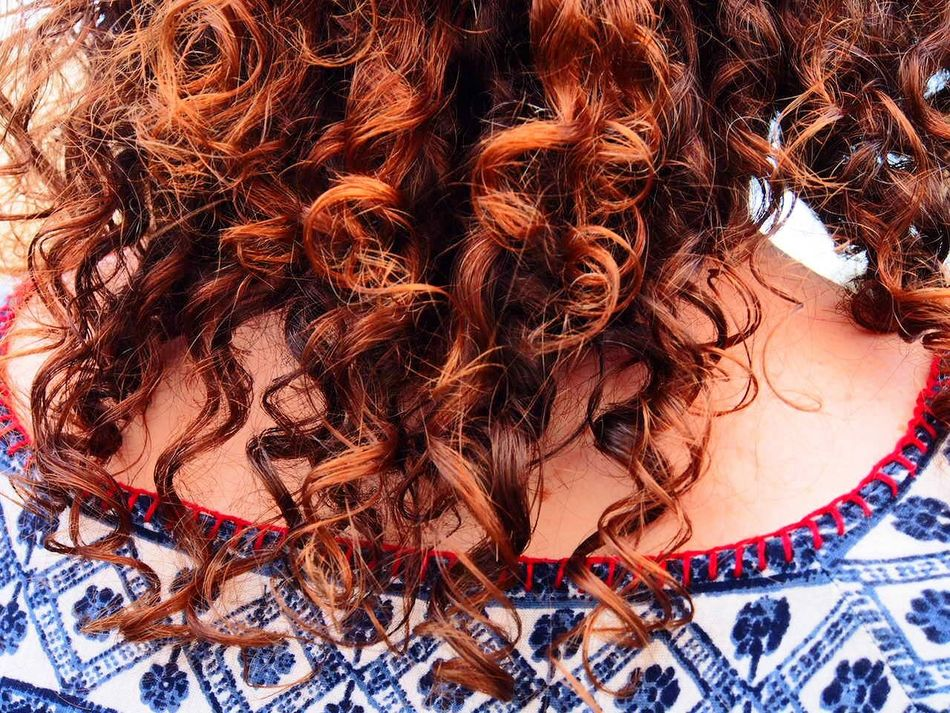 Perfectly natural and perfectly glorious red curls! Redhead Redhairdon'tcare NaturalBeauty Curly Hair Feminity Portraitist - 2016 Eyeem Awards