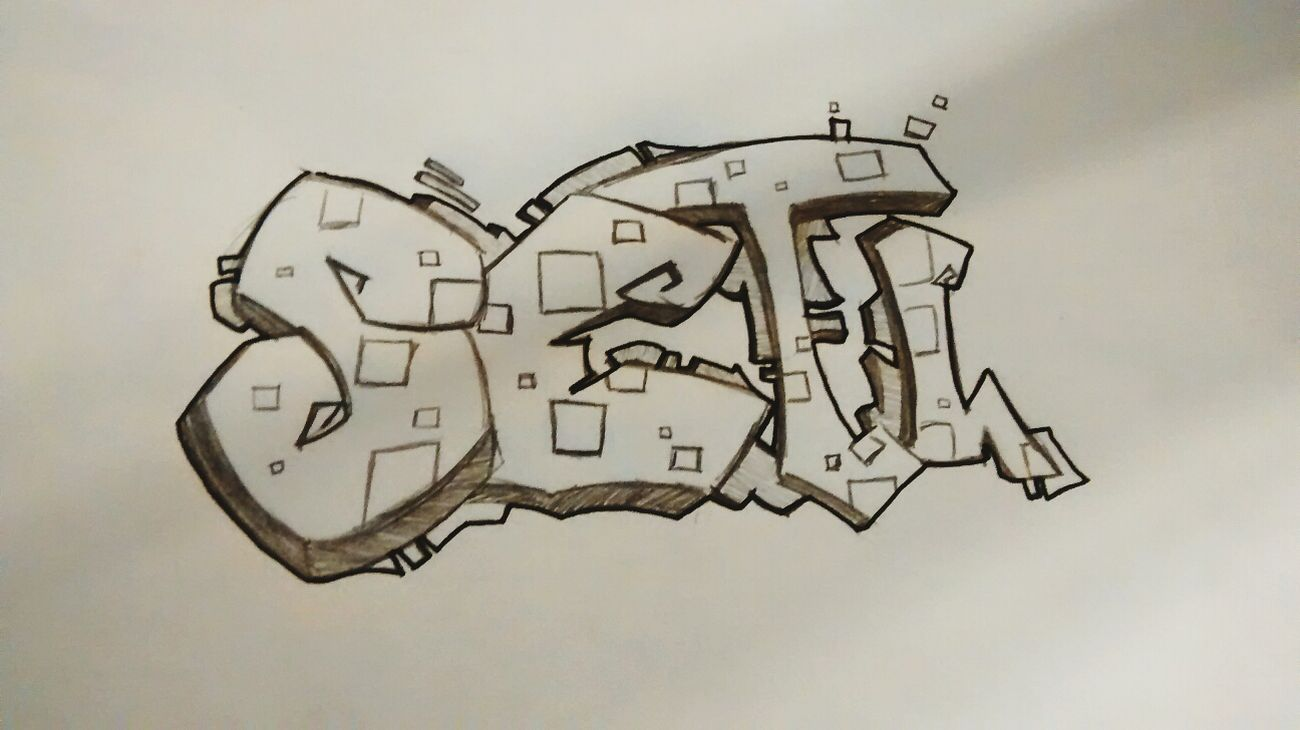 Graffiti name freestyle Streett Art Graffiti