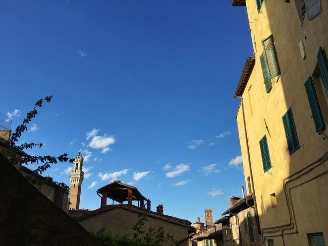 43 Golden Moments On The Way Landscape Sun Sky IPhoneography Summertime Panorama Landscape_Collection Urban Landscape Toscana Tuscany Siena Italy Lookingup Summer Light And Shadow Silhouette Streetphotography Street Street Photography Streetphoto_color