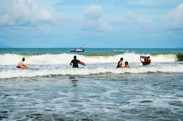 Bring Me The Horizon Life Is A Beach Waverider  Anyer  Sea And Sky INDONESIA