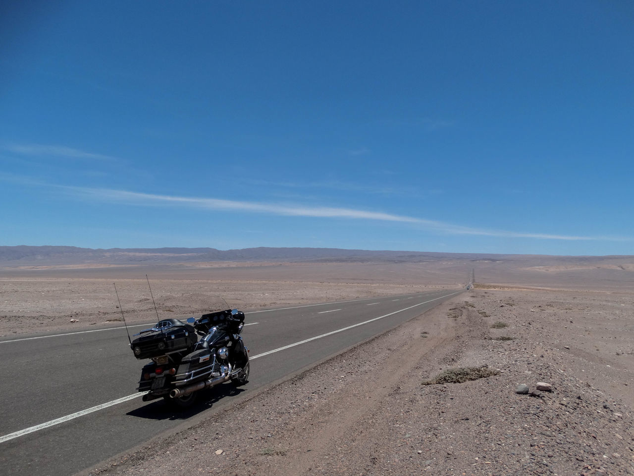Desert Sky Clear Sky Sand Outdoors No People Tire Track Landscape Sand Dune Day Arid Climate Motorsport Sports Track Harley Davidson Harleydavidson Winding Road South America Wild Born To Be Wild Wildlife & Nature Roadtrip EyeEmNewHere