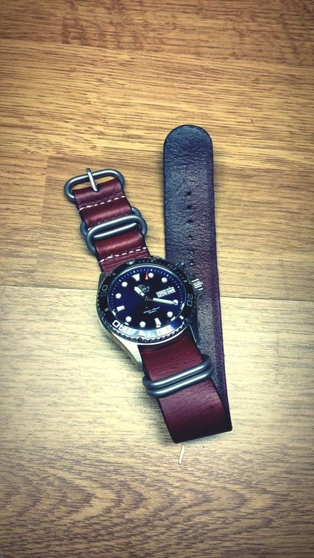 Strap Orient Ray NATO LG G3 Leather