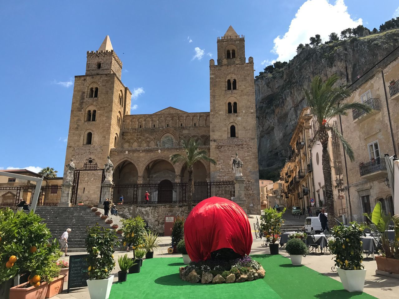 Architecture Historical Building Dome Duomo Church Old Church Sunny Day Italian Church Sicily Old Buildings Old