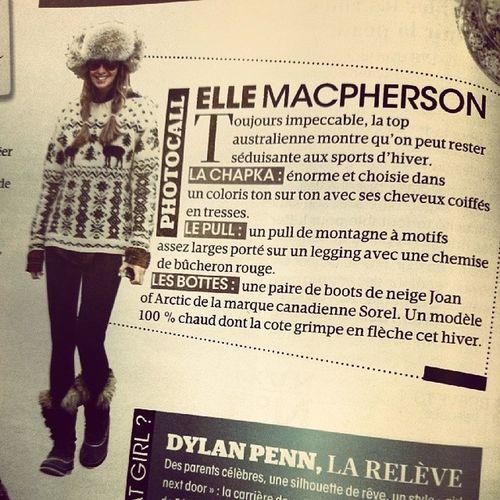 La Chapka! New French word! MadameFigaro Russian