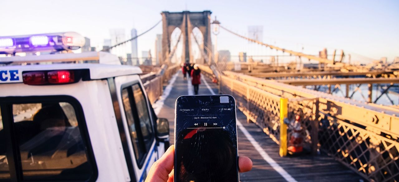 Brooklyn Bridge / New York Brooklyn Brooklynbridge Jayz Brooklynwegohard Police NYPD